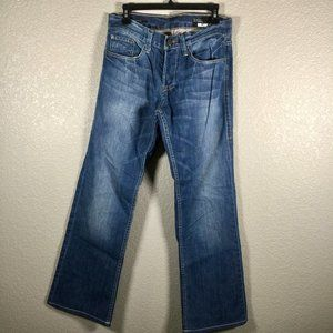 William Rast Mick Bootcut denim jean button fly 30
